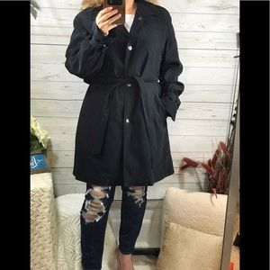 Liz Claiborne rain dress coat
